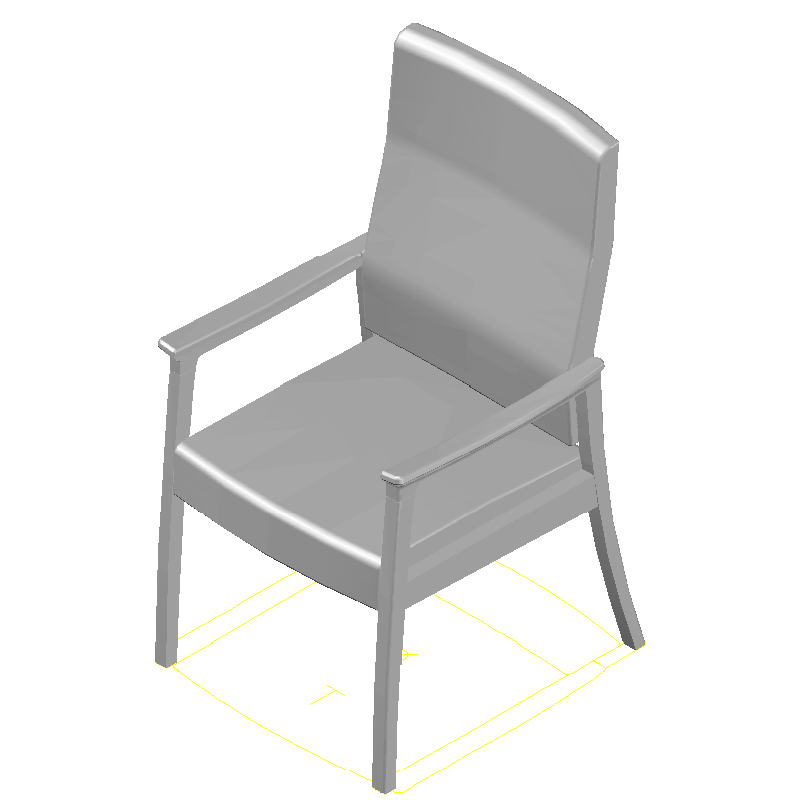 carolina business furniture 1625 modern amenity 24x26x45 patient chair