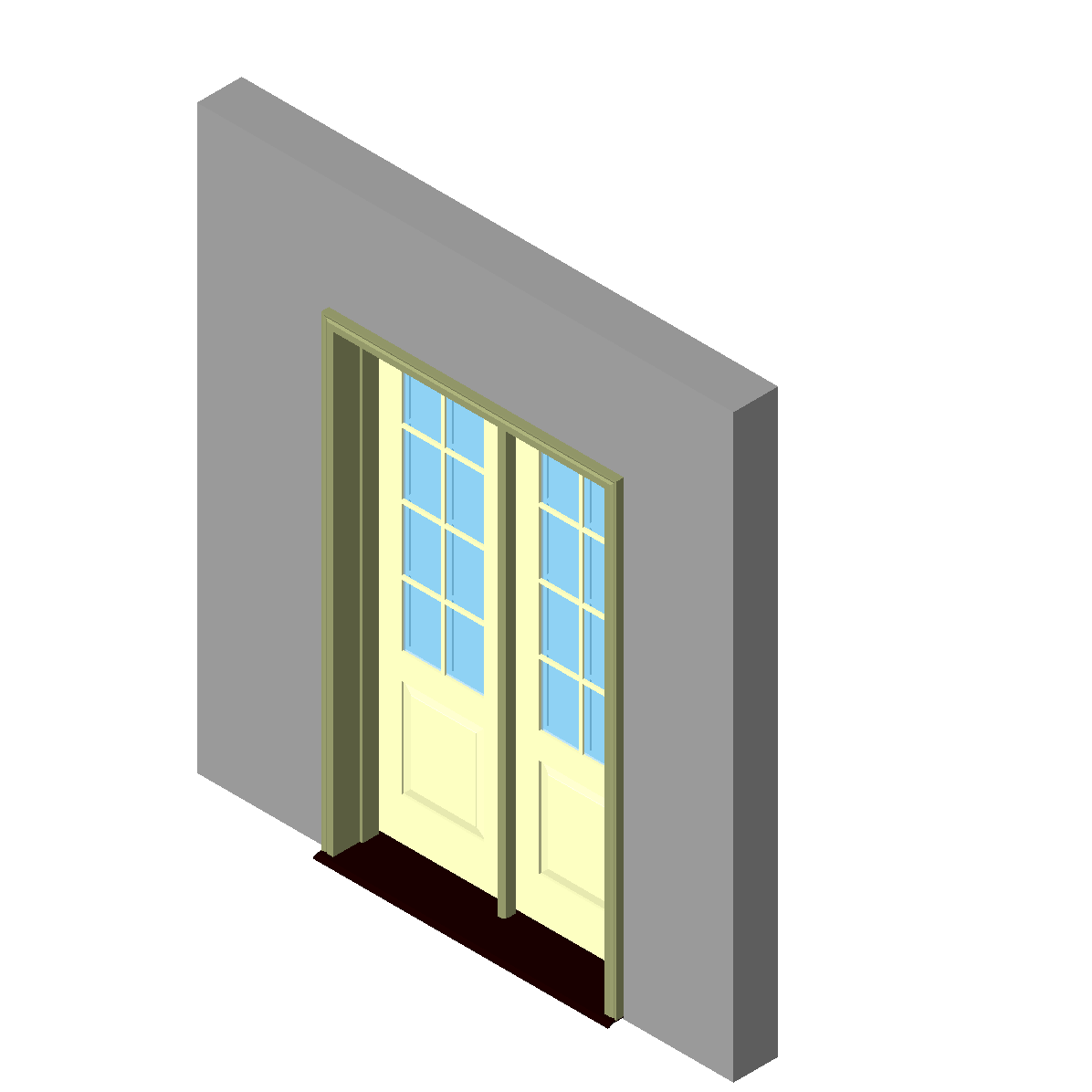 Door_Inswing_Entrance_2-Wide_1-Panel_Handicap_Sill_Kolbe-4Ft 2 3_16In W x 6Ft 10 23_32In H