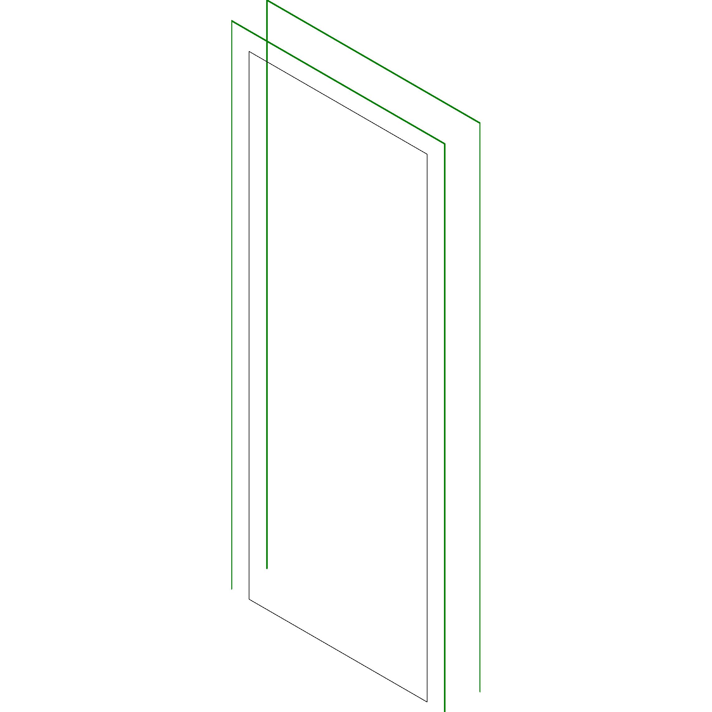#418A41  door simple 30  x 80  Simple door with one opening 30 x 80 4284 Janela Aluminio Branco 100 X 120