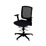 HVL515 | HON Torch Mesh Mid-Back Task Stool | Center-Tilt | Fixed Arms