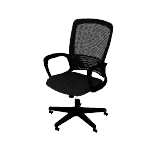 HVL525 | HON Mesh High-Back Chair | Center-Tilt | Fixed Arms