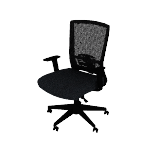 HVL541 | HON Mesh High-Back Task Chair | Center-Tilt, Tension, Lock, Adjustable Lumbar | Adjustable Arms