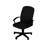HVL601 | HON High-Back Executive Chair | Center-Tilt | Fixed Arms