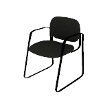 HVL693 | HON Client Sled Base Guest Chair | Fixed Arms