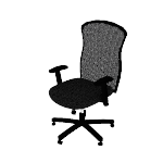 HVL705 | HON Wave Mesh Big and Tall Executive Chair | Knee-Tilt | Adjustable Arms