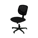 HVST101 | Sadie Mid-Back Task Chair | No Arms