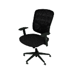 HVST121 | Sadie High-Back Task Chair | Height-Adjustable Arms | Height-Adjustable Back