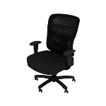 HVST141 | Sadie Big and Tall Chair | Height-Adjustable Arms | Adjustable Lumbar