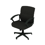 HVST303 | Sadie Mid-Back Chair | Fixed Arms