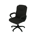 HVST305 | Sadie Mid-Back Executive Chair | Fixed Padded Arms