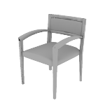 H2164 | HON Cambia Guest Chair | Upholstered Back | Arch Arms