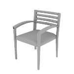 H2165 | HON Cambia Guest Chair | Wood Slat Back | Arch Arms
