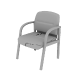 H2194 | HON Pillow-Soft Guest Chair | Four Leg Base