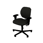 H5701ASB11 | Volt Chair with Arms