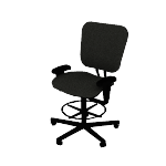 H5705ASB11 | Volt Stool with Arms