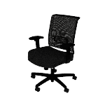 HCAT1MM | HON Convergence Task Chair | Mid-Back | Mesh Back | Center Tilt