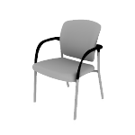 HCG6DF | HON Ceres Guest Chair | Multi-Purpose | Four-Leg