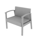HHCB50 | HON Versant Guest Chair | Bariatric | Single Seat