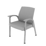 HHCG11DFMB | HON Soothe Guest Chair | Dual Fabric | Moisture Barrier