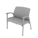 HHCG50DFMB | HON Soothe Guest Chair | Bariatric | Outside Arms | Dual Fabric | Moisture Barrier