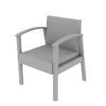 HHCT01 | HON Versant Guest Chair | Single Seat
