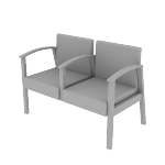 HHCT02 | HON Versant Guest Chair | Two-Seat