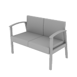 HHCT12 | HON Versant Guest Chair | Two-Seat