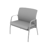 HIB50FC | HON Ignition Lounge Chair | Bariatric | Fixed Arms | Fire Code