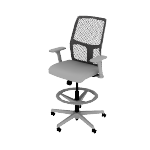 HITSRA | HON Ignition ReActiv Task Stool | Low-Back |Adjustable Footrest