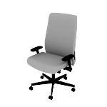 HLEUBT | HON Endorse Task Chair | High-Back | Big and Tall | Upholstered Back | Synchro-Tilt