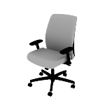 HLTP | HON Endorse Task Chair | Low-Back | Plastic Outer Back | Synchro-Tilt
