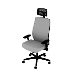 HLWM | HON Endorse Task Chair | Mid-Back | 4-way stretch mesh back | Synchro-Tilt