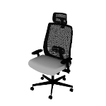 HLWMBT | HON Endorse Task Chair | Mid-Back | Big and Tall | 4-way stretch mesh Back | Synchro Tilt