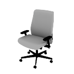 HLWUBT | HON Endorse Big and Tall Chair | Synchro-Tilt, Seat Glide, Lumbar Support