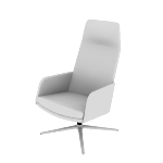 HMAVHAMF | HON Mav High-Back Lounge Chair | Arms | Multi-Fabric