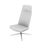 HMAVHNMF | HON Mav High-Back Lounge Chair | Armless | Multi-Fabric