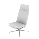 HMAVHNMF | HON Mav High-Back Lounge Chair | Armless | Multi-Fabric