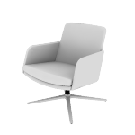 HMAVMAMF | HON Mav Mid-Back Lounge Chair | Arms | Multi-Fabric