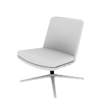 HMAVMN | HON Mav Mid-Back Lounge Chair | Armless
