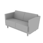 HML2S | HON Grove Lounge Chair | Two Seat