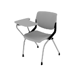 HMNT2 | HON Motivate Chair | Flex-Back | Tablet Arm | Upholstered Seat