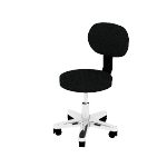 HMTS11 | HON Lab Stool | With Back