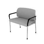 HSB50DF | HON Accommodate Bariatric Chair | Dual Fabric