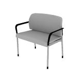 HSB50DF | HON Accommodate Bariatric Chair | Dual Fabric