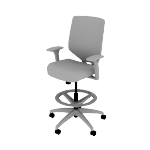 HSLVSMM | HON Solve Task Chair | Mid-Back | Mesh Back | Synchro-Tilt