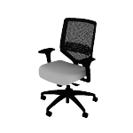 HSLVTMMKD | HON Solve Task Chair | Mid-Back | Mesh Back | Synchro-Tilt