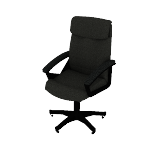 HVL151 | HON High-Back Executive Chair | Center-Tilt | Fixed Arms