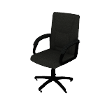 HVL161 | HON High-Back Executive Chair | Center-Tilt | Fixed Arms