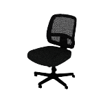 HVL205 | HON ValuTask Mesh Back Task Chair | Center-Tilt