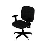 HVL210ARMS | HON ValuTask Low-Back Task Chair | Center-Tilt | Height-Adjustable Arms